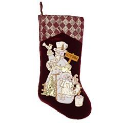 abordables Sombreros y Accesorios para la Cabeza-permiten decoraciones de Navidad que muestran Pleuche grandes calcetines