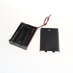 abordables Clavijas y Enchufes Eléctricos-sellado con un 5 pilas AA aa interruptor cuadro 3 (2pcs)
