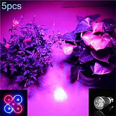 preiswerte LED-Birnen-5W lm E26/E27 LED Spot Lampen MR16 5 Leds SMD Lila Wechselstrom 85-265V