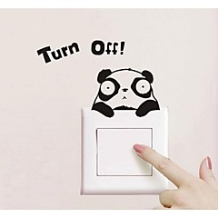 Panda Design Switch Sticker