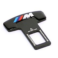 abordables Cierres de Cinturón de Seguridad-de metal universal de la hebilla del cinturón del asiento de seguridad para automóvil