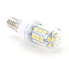 tanie Żarówki LED-3W 200 lm E14 Żarówki LED kukurydza T 27 Diody lED SMD 5050 Ciepła biel AC 220-240V