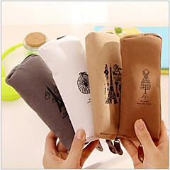 abordables Fundas y Bolsos-memoria de algodón parís y la bolsa estacionaria ropa interior (1 PC color al azar)
