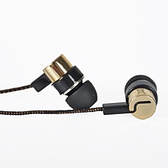 유선 - 귀-안쪽 - 클래식/만화/노벨티/레트로/스타일리쉬 - 이어폰 (이어버드, 인-이어) (골드 , 마이크로폰/MP4/공명/휴대용/이어 버드)