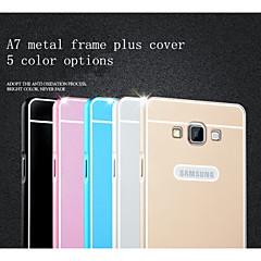 Varten Samsung Galaxy kotelo Pinnoitus Etui Takakuori Etui Yksivärinen Akryyli Samsung A7