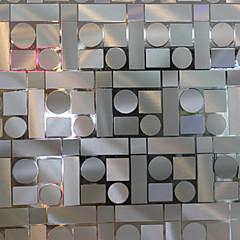 abordables Tratamientos Para Ventanas-Geométrico Moderno Película para Ventana, PVC/Vinilo Material decoración de la ventana Comedor Dormitorio Salón Cocina