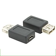 お買い得  ケーブル、アダプター-マイクロUSB 2.0メスアダプタにUSB 2.0女性