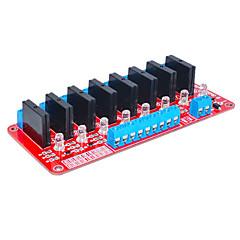 Arduinoのソリッドステートリレーは8(赤)