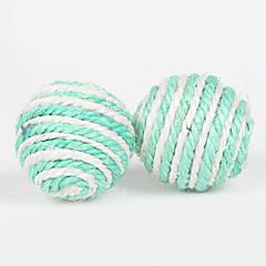 お買い得  犬用おもちゃ-犬用品 / 猫用品 おもちゃ ボール型 ロープ シザル麻