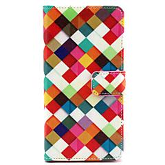 Mert Sony tok / Xperia Z3 Pénztárca / Kártyatartó / Állvánnyal / Flip Case Teljes védelem Case Mértani formák Kemény Műbőr mert SonySony