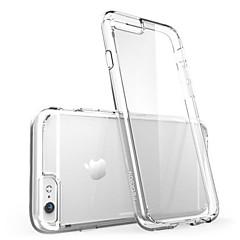 Käyttötarkoitus iPhone X iPhone 8 iPhone 8 Plus iPhone 6 iPhone 6 Plus kotelot kuoret Ultraohut Läpinäkyvä Takakuori Etui Yhtenäinen väri