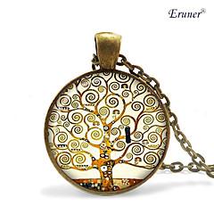 preiswerte Halsketten-Herrn Damen Anhängerketten - Schwarz, Silber, Bronze Modische Halsketten Schmuck Für Alltag, Normal, Sport