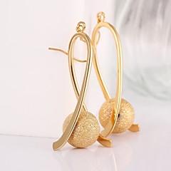 preiswerte Ohrringe-Damen Kreolen - vergoldet Rose / Golden Für Hochzeit Party Alltag