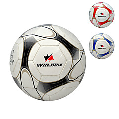abordables Balones-Soccers (Rojo/Negro/Azul , PVC) - Impermeable/No deformable/Durabilidad