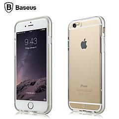 Для Кейс для iPhone 6 / Кейс для iPhone 6 Plus Прозрачный Кейс для Задняя крышка Кейс для Один цвет Мягкий TPUiPhone 6s Plus/6 Plus /