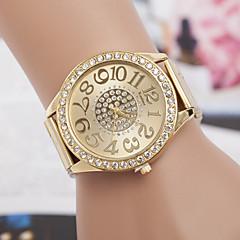 お買い得  大特価腕時計-女性用 ダミー ダイアモンド 腕時計 ファッションウォッチ クォーツ スイスの 模造ダイヤモンド デザイナー 金属 バンド チャーム シルバー ゴールド ローズゴールド