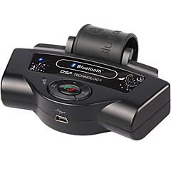Недорогие Bluetooth гарнитуры для авто-bluetooth автомобильные комплекты встроенный аккумулятор mp3-плеер руль спикерфон портативная поддержка a2dp автомобильное зарядное
