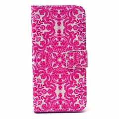 Для Кейс для iPhone 6 / Кейс для iPhone 6 Plus Кошелек / Бумажник для карт / со стендом Кейс для Чехол Кейс для Кружевной дизайн Твердый