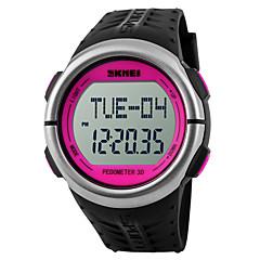 お買い得  メンズ腕時計-SKMEI 男性用 デジタルウォッチ / スポーツウォッチ アラーム / カレンダー / クロノグラフ付き ラバー バンド チャーム ブラック