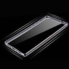 お買い得  Huawei 用ケース/カバー-ケース 用途 Huawei社G7 Huawei社P8 Huawei Huawei社の名誉4C Huawei社P8マックス Huawei社P8ライト Huawei社メイト7 P8 Lite P8 Huaweiケース 超薄型 バックカバー 純色 ソフト TPU のために
