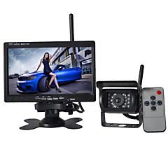 tanie Kamery samochodowe tylne-7 in Monitor cofania samochodu Wodoodporny / Bezprzewodowy na Autobus