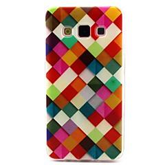 abordables Galaxy A3 Carcasas / Fundas-Funda Para Samsung Galaxy Funda Samsung Galaxy Diseños Funda Trasera Diseño Geométrico TPU para A3