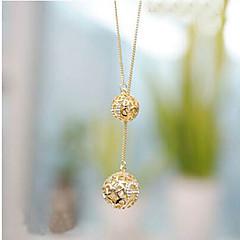 preiswerte Halsketten-Damen Synthetischer Diamant Anhängerketten - Diamantimitate Farbbildschirm Modische Halsketten Schmuck Für