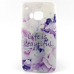 mooi leven patroon zacht TPU Case voor HTC M9 / HTC One M9