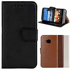 Mert HTC tok Kártyatartó / Pénztárca / Állvánnyal / Flip Case Teljes védelem Case Egyszínű Kemény Műbőr HTC
