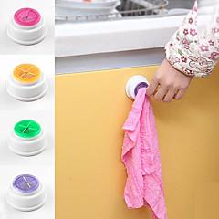 hesapli Saklama Kapları-havlu tutucu (rastgele renk) yüklemek kolaydır kendinden yapışkanlı çekin n kurcalamak