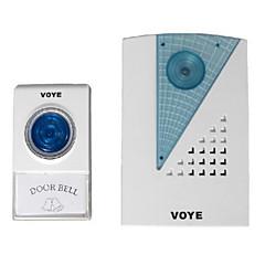 genel voye v001a uzaktan kumanda kablosuz kapı zili kapı zili CPVC açtı