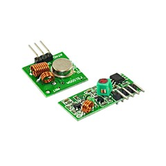 433M Super Regenerative Module Wireless Transmitting Module Mlarm Transmitter Receiver 1