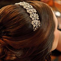 Női Koszorúslányok Ötvözet Sisak-Esküvő Különleges alkalom Fésűk 1 darab