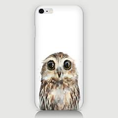 Для Кейс для iPhone 6 / Кейс для iPhone 6 Plus С узором Кейс для Задняя крышка Кейс для Сова Твердый PCiPhone 6s Plus/6 Plus / iPhone