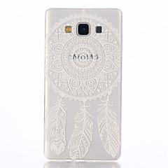 Χαμηλού Κόστους Galaxy A7 Θήκες / Καλύμματα-Για Samsung Galaxy Θήκη Διαφανής / Με σχέδια tok Πίσω Κάλυμμα tok Ονειροπαγίδα TPU Samsung A7
