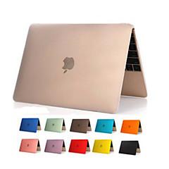 economico Accessori per MacBook-chiaro copertura di alta qualità in PVC trasparente corpo duro per Apple nuovo MacBook da 12 pollici (colori assortiti)