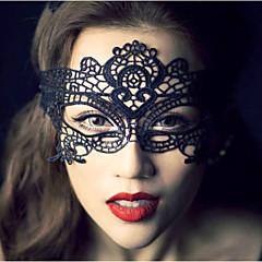 billige Hårsmykker-håndlavet blonder maske til fest holloween fødselsdag bryllup elegant stil