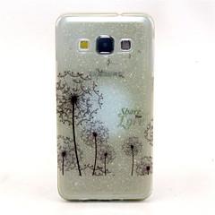 Για Samsung Galaxy Θήκη Ημιδιαφανές / Με σχέδια tok Πίσω Κάλυμμα tok Ραδίκι TPU Samsung A7 / A5 / A3