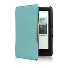 お買い得  タブレット用ケース-ケース 用途 KOBO フルボディケース スタンド付き フルボディーケース 純色 ハード PUレザー のために