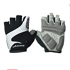 acacia Sports Gloves Bike Gloves / Cycling Gloves Wearable Breathable Wearproof Reduces Chafing Fingerless Gloves Polyester Lycra Cotton