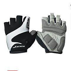Rękawiczki sportowe Rękawiczki rowerowe Zdatny do noszenia Oddychający Wearproof Redukuje odparzenia Bez palców Lycra Bawełna Kolarstwo /