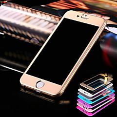 hzbyc® titán 3d íves acél védő fólia iPhone 6 / 6s