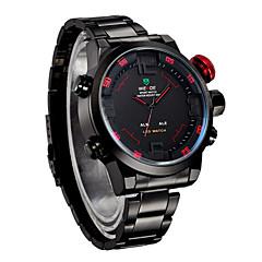 preiswerte Tolle Angebote auf Uhren-WEIDE Herrn Armbanduhr Alarm / Kalender / Chronograph Edelstahl Band Charme Schwarz / Silber