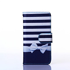 halpa Galaxy A7 kotelot / kuoret-bowknot pattern pu nahka koko kehon kotelo jalustalla useita Samsung Galaxy a3 / a5 / a7