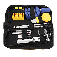 cheap -Durable Portable 13 Pcs Watchmaker Watch Repair Tool Set Kit Pin Remover Case Opener Adjuster Fashion Watch