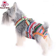 お買い得  猫の服-ネコ 犬 パンツ 犬用ウェア 縞柄 ランダムカラー コットン コスチューム ペット用 コスプレ 結婚式