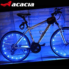 cheap -Bike Lights Wheel Lights LED - Cycling Color-Changing Cell Batteries 400 Lumens USB Battery Cycling/Bike - Acacia