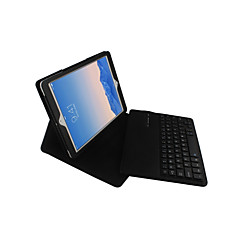 abordables Liquidación-Funda Para iPad Air 2 con Soporte / con Teclado / Flip Funda de Cuerpo Entero Un Color Dura Cuero de PU para