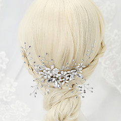 abordables Joyería para el Cabello-Bandas de cabeza ( Legierung/Perla Artificial/Brillante ) - Boda/Fiesta