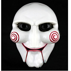 Funny Full Face White Simulation Texas Chainsaw Halloween Fancy Dress Party Mask